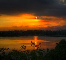Sunset HDR by Paulina Uy