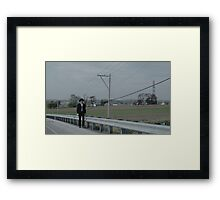 Angry Amish Framed Print
