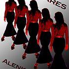 e-book cover for 'Spares' by Alenka Co