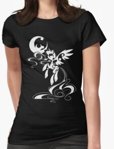 My Moon's Lineage (White) Womens Fitted T-Shirt