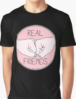 Real Friends Friendship Brofist Swag Graphic T-Shirt
