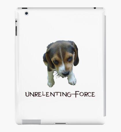 Unrelenting Force - Puppy has POWER iPad Case/Skin