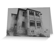 Mansion in the Mist Greeting Card