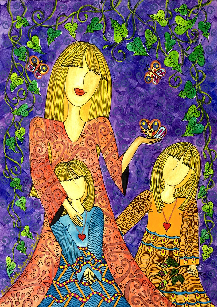 Mother's Nature ~ sharing the beauty of life by Lisa Frances Judd~QuirkyHappyArt