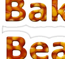 Baked Beans Can Sticker