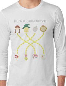 Follow the yellow brick road Long Sleeve T-Shirt