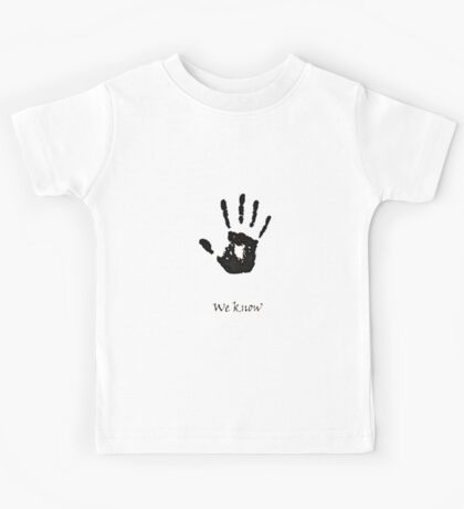 Dark Brotherhood Knows.. You've been Bad! Kids Tee