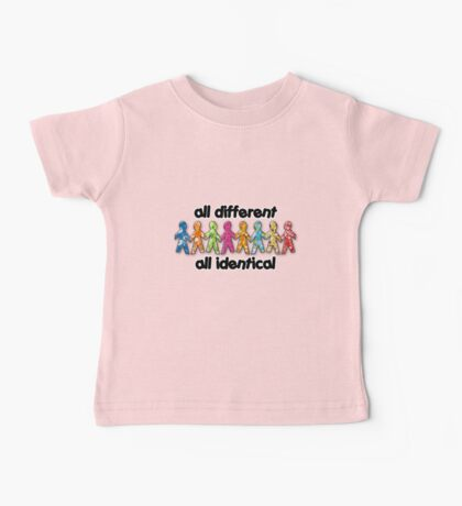 all different - all identical  Baby Tee