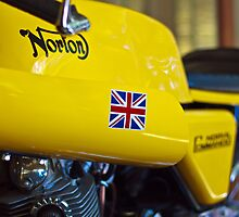 Norton Commando by Sean Mullarkey