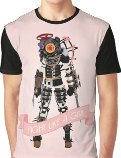 Fight Like a Girl: Big Sister Graphic T-Shirt