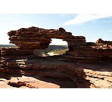 Natures Window - Kalbarri Photographic Print