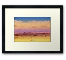 ~To dream in colours~ Framed Print
