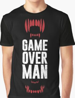 Game Over Man Graphic T-Shirt