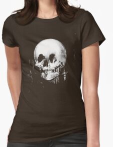 All Is Vanity: Halloween Life, Death, and Existence Womens Fitted T-Shirt