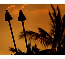 fire for Pele Photographic Print