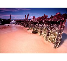 ship wreck at rest Photographic Print