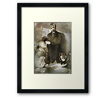 Release the Hounds Framed Print