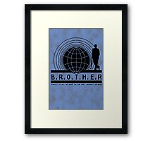 Brother dear Framed Print