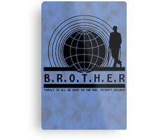 Brother dear Metal Print