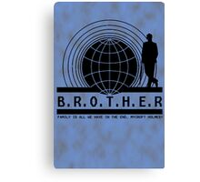 Brother dear Canvas Print