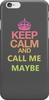 Keep calm and.. by Anouk Westerdijk