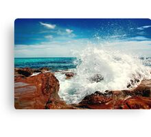 Spray... Canvas Print