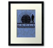 UNCLE Mycroft Framed Print
