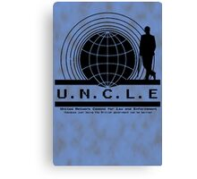 UNCLE Mycroft Canvas Print