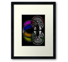 here's looking at myself Framed Print