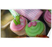 Cup cakes for new baby... Poster