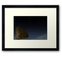 The Dish - Parkes Radio Telescope - NSW Framed Print