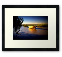 Outback relaxation Framed Print