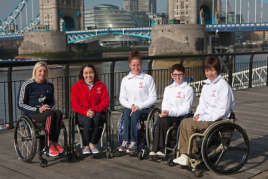 Female Elite Wheelchair Athletes 2012 by Keith Larby