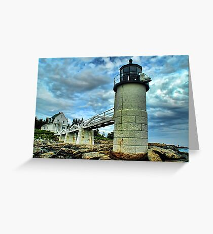 Marshall Point Light (3) Greeting Card