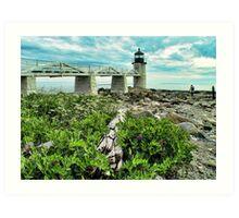 Marshall Point, Maine Art Print