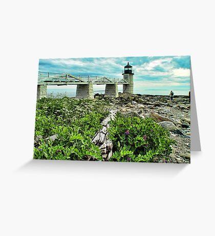 Marshall Point, Maine Greeting Card
