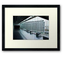 Casa da Música. Framed Print