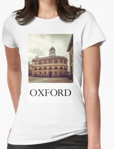 Oxford: Sheldonian Theater Womens Fitted T-Shirt