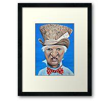 """Bob Katter as the """"Mad Katter"""" Framed Print"""