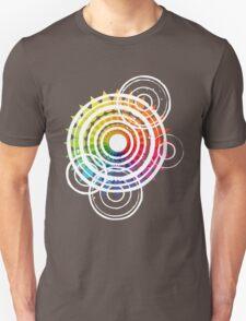 Raindrops Rippling On The Colour Wheel T-Shirt