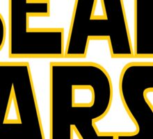 Beard Wars May The Fuzz Be With You Men's Funny Beard Sci-fi  Sticker