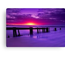 """Twilight's Finale"" Canvas Print"