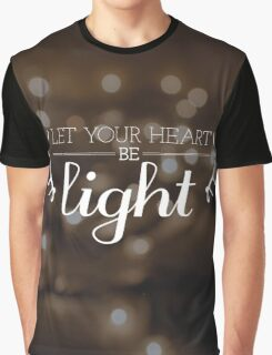Let Your Heart Be Light Graphic T-Shirt