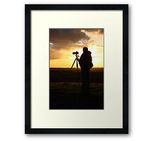 500D Shoots 5D Mark III Framed Print