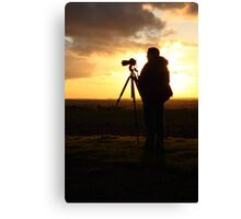 500D Shoots 5D Mark III Canvas Print