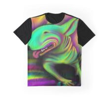 English Bull Terrier Colour Splash  Graphic T-Shirt