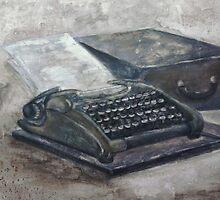 Maquina de escribir by Fannyja