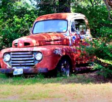 1950 Ford F100 Sticker