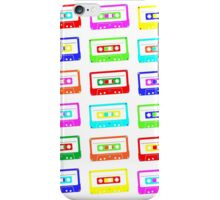 Colourful Cassette Tapes iPhone Case/Skin