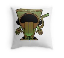 Earth Sprite Throw Pillow